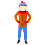 Adult Costume Stan Size XL
