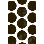 10 Paper Treat Bags Polka Dot Black 11.3 x 17.7 cm