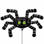 Mini Shape Striped Spider FoilBalloon A30 Bulk