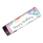 2 Party Popper Happy Birthday Pastel Plastic / Paper 15 cm