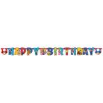 Letterbanner Super Mario 190x18 cm,