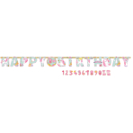 Letter Banner Magical Unicorn Paper Personalizable 320 x 25.4 cm