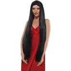 Wig Black Long One Size