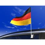 Flag Car Germany Fabric 30 x 40 cm