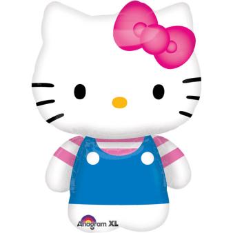 Mini Shape Hello Kitty Summer Fun Foil Balloon A30 Bulk