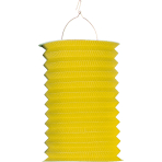 Drop Lantern Yellow Paper 28 c