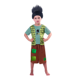 Child Costume Trolls Branch Age 3 - 4 Years