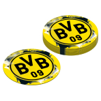 12 Coaster BVB Dortmund Paper 10,7 cm