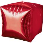 Cubez Red Foil Balloon G20 Bulk 38 x 38 cm
