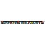 Banner Piraaates! 180 x 15 cm