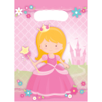 8 Party Bags My Princess Plastic 23.4 x 16.2 cm