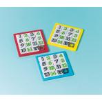 12 Slide Puzzles Plastic 6.2 x 6.2 cm