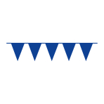 Pennant Banner Bright Royal Blue Plastic 1000 x 32 cm