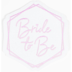 Iron on Patch Bride To Be 9.8 x 9.1 cm
