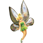AirWalker Tinker Bell Foil Balloon P93 Packaged 78 x 167 cm