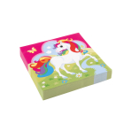 20 napkins Unicorn 33 x 33cm