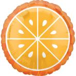 Standard Tropical Orange Foil Balloon S40 Packaged