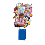 Foil Balloon Display Blue Corral 41 x 41 x 64 cm