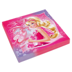 20 Napkins Barbie Pink Shoes 33 x 33 cm