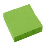 20 Napkins Kiwi Green 25 x 25 cm