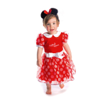 Baby Costume Minnie Dress Red Age 6 - 12 Months