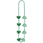 Necklace St. Patrick's Day Plastic 101.6 cm