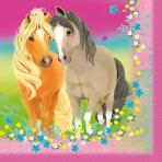 20 Pretty Pony Napkins 33 x 33 cm
