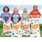 6 Sacks for Sack Race Plastic 59.6 x 102.2 cm