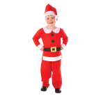 Child Costume Mr. Santa Age 6 - 8 Years