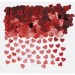 Confetti Sparkle Hearts Red Foil 14 g