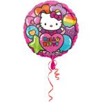 Standard Hello Kitty Rainbow Foil Balloon S60 Packaged 43 cm