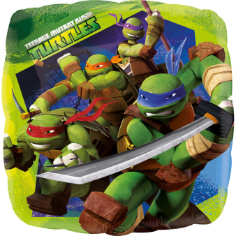 Standard Teenage Mutant Ninja Turtles Foil Balloon S60 Bulk 43 cm