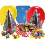 Party Kit Paper / Plastic / Latex 21 Pieces