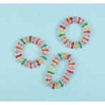 8 Bracelets Crystal Plastic 6.8 x 1 cm