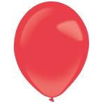 "50 Latex Balloons Decorator Standard Apple Red 35 cm / 14"""