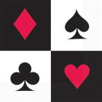 16 Napkins Place Your Bets 33 x 33 cm