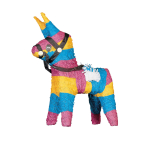 Pinata Donkey Paper 35.5 x 48.2 x 15.8 cm