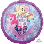 Standard Holographic MLP Friendship Adventure Foil Balloon S60 Packaged