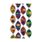 4 Rotor Spirals Confetti Foil 5 x 60 cm