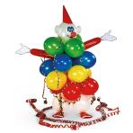 Decoration Kit Balloon Clown Latex / Paper