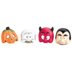 Mask Halloween Children Assorted Plastic 17.3 x 18.4 cm