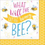 16 Napkins What Will It Bee? 25cm