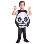 Children's Costume Skeleton Tabard 4-6 yrs