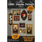 2 Scene Setter Add-Ons Gothic Portraits Plastic 165 x 85 cm