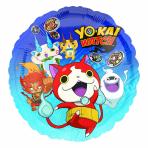 "Standard ""Yo-kai Watch"" Foil Balloon Round, S60, packed, 43cm"