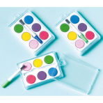 12 Paint Sets Plastic 4.7 x 3.7 x 1.2 cm