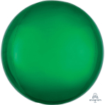 "Orbz Green Foil Balloon G20 Packaged 15""/38cm w x 16""/40cm h"