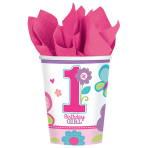 8 Cups Sweet Birthday Girl 266ml