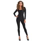 Women's Catsuit Black Size M/L