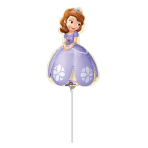 Mini Shape Sofia the First Foil Balloon A30 Air Filled